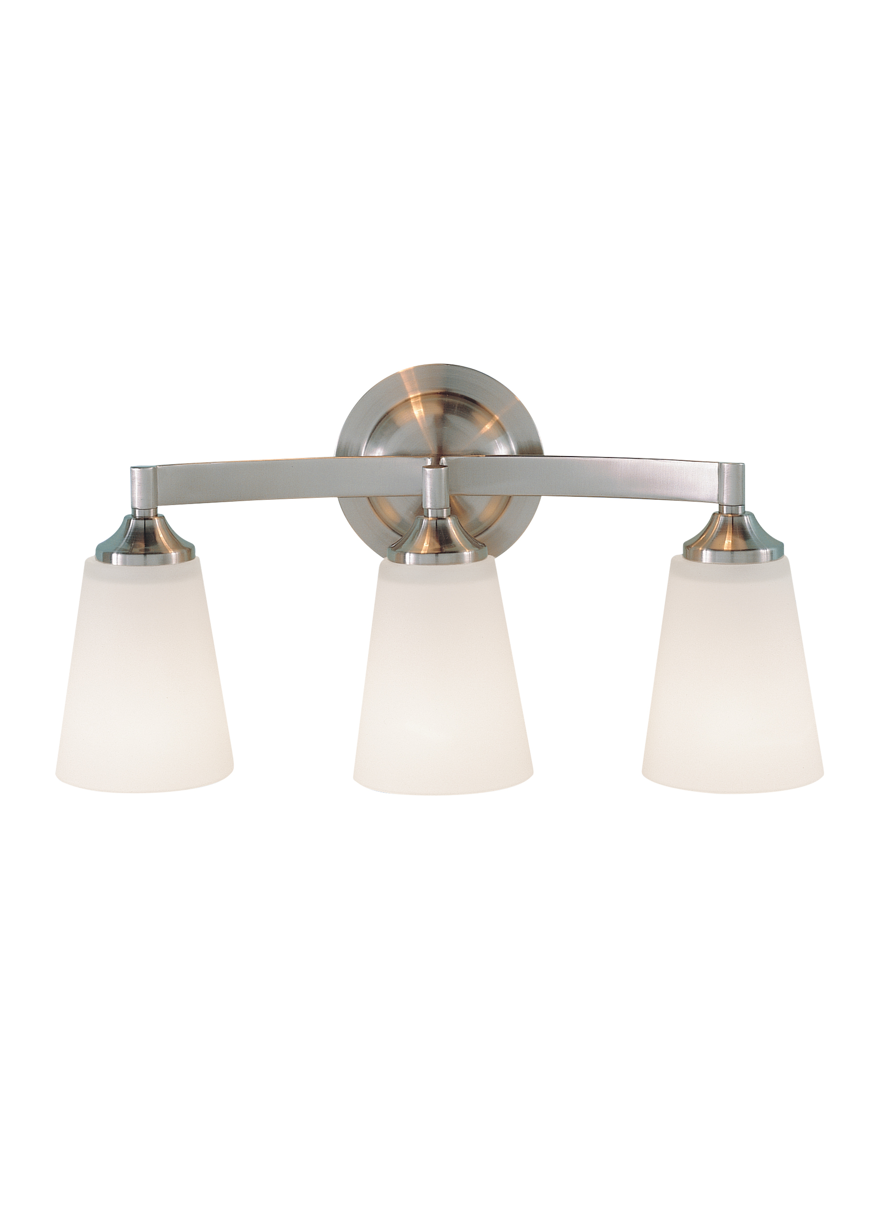 VS9403-BS,3 - Light Vanity Fixture,Brushed Steel