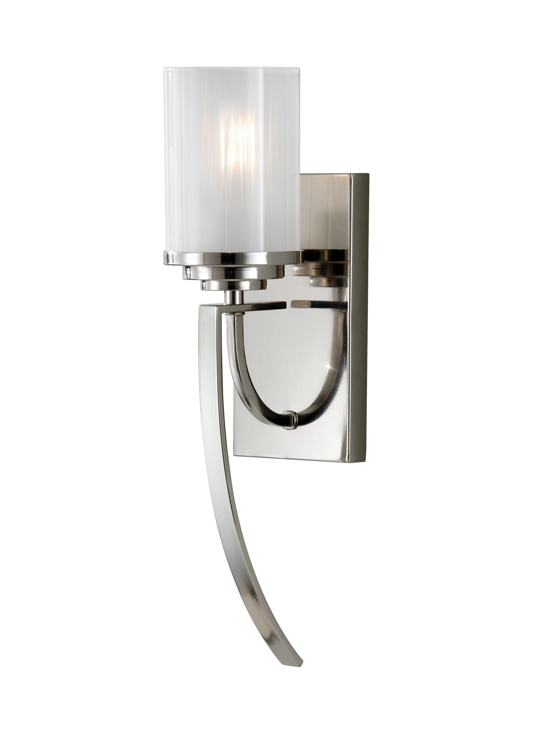 jefferson arm wall products library single long street polished sconce nickel high