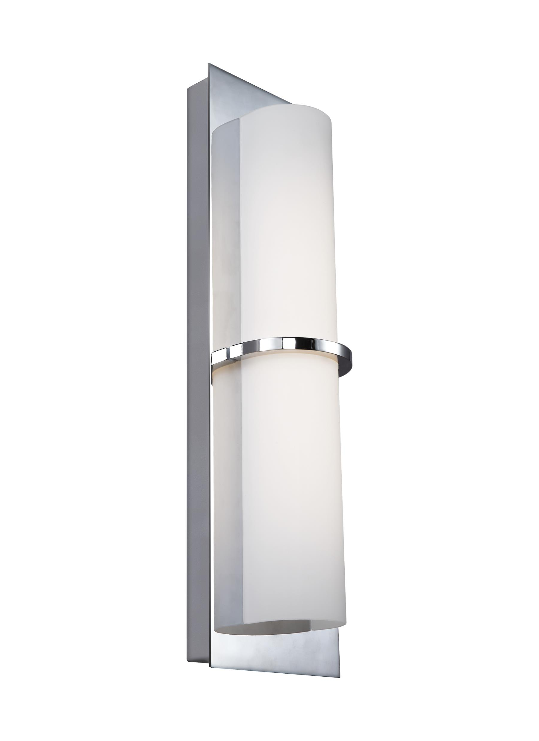 wall brushed wh modern aluminum white qb bruck loading zoom bru interior led sconce exterior