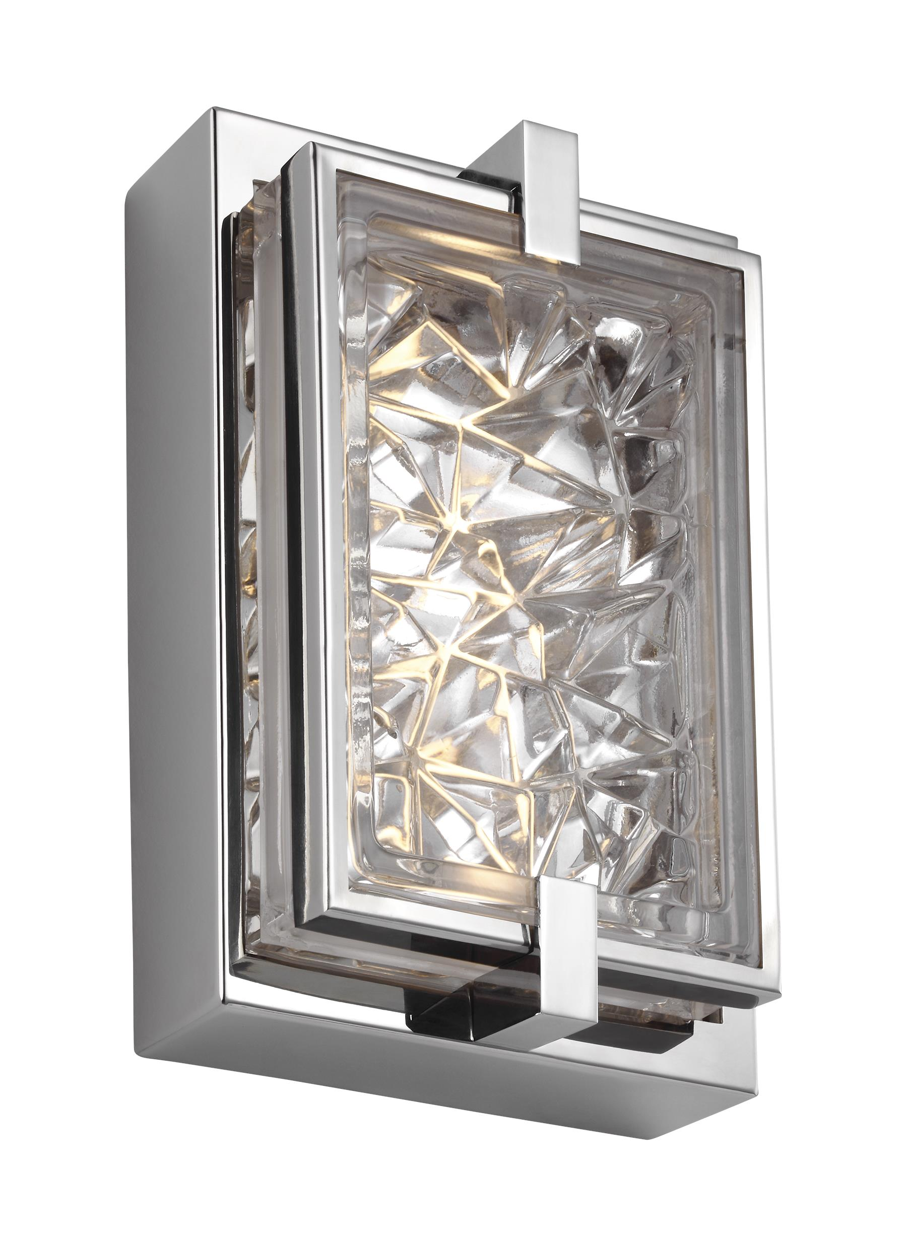 Wb1865pst led9 tall led indoor outdoor wall sconcepolished loading zoom arubaitofo Images