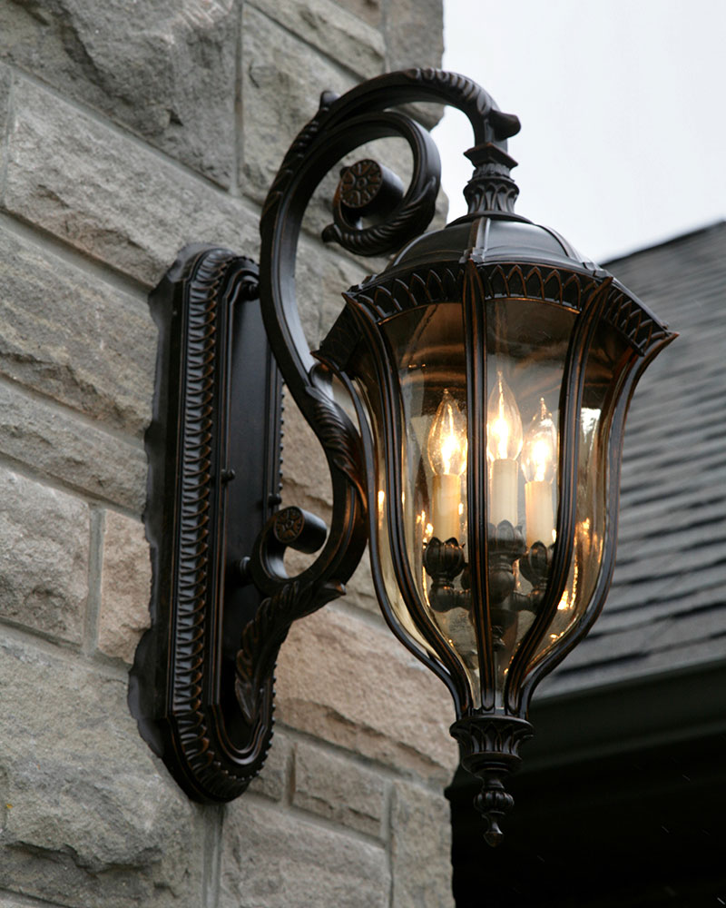 Ol6004wal4 light wall lanternwalnut