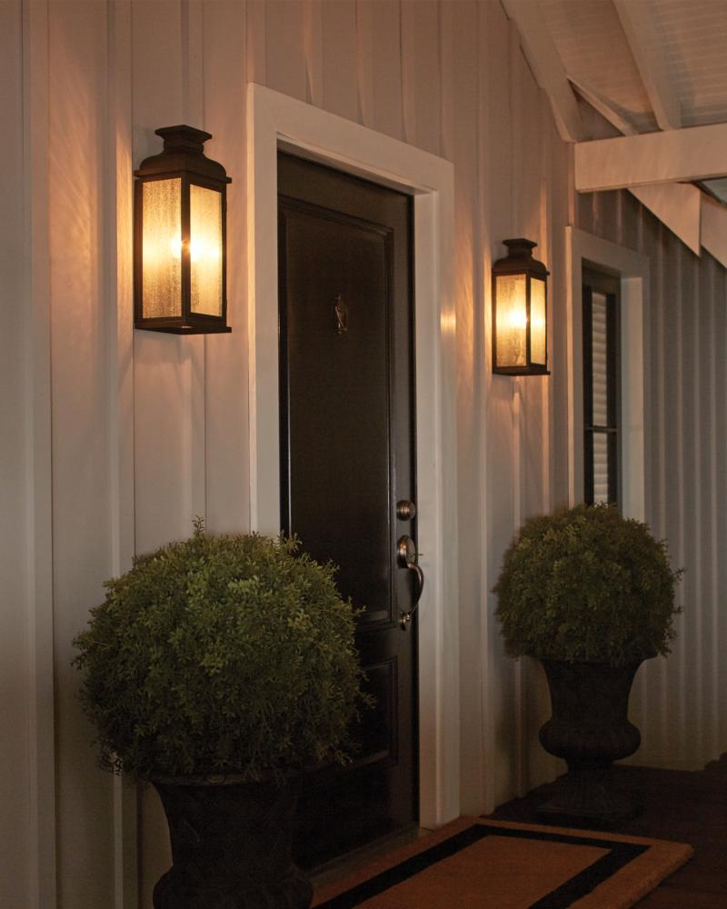 OL11100DAC,2   Light Outdoor Sconce,Dark Aged Copper