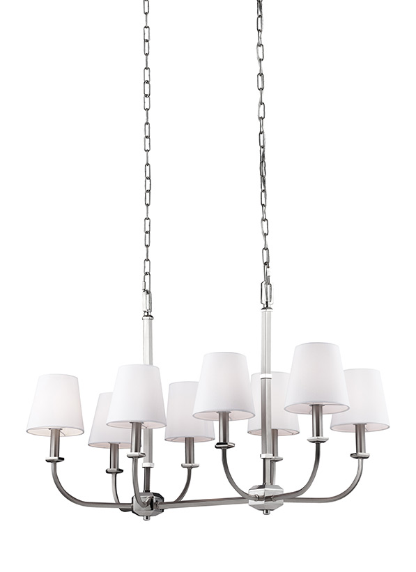 Pentagram lighting collection from feiss