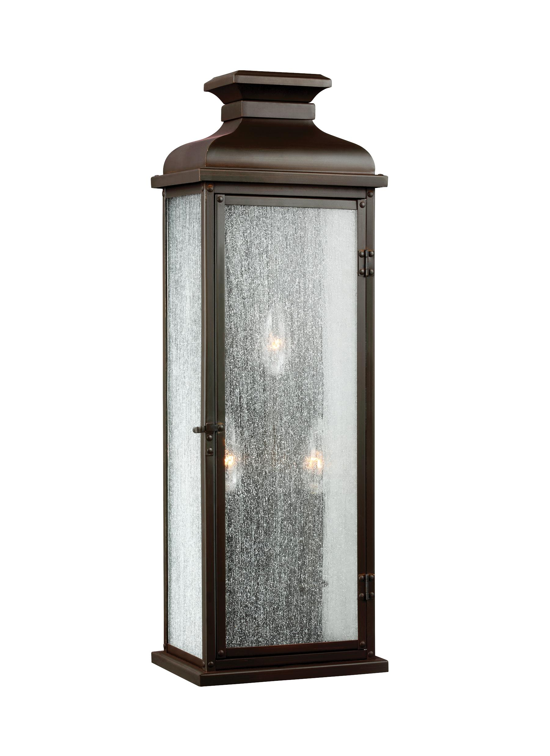 Ol11102dac 3 Light Outdoor Sconce Dark Aged Copper