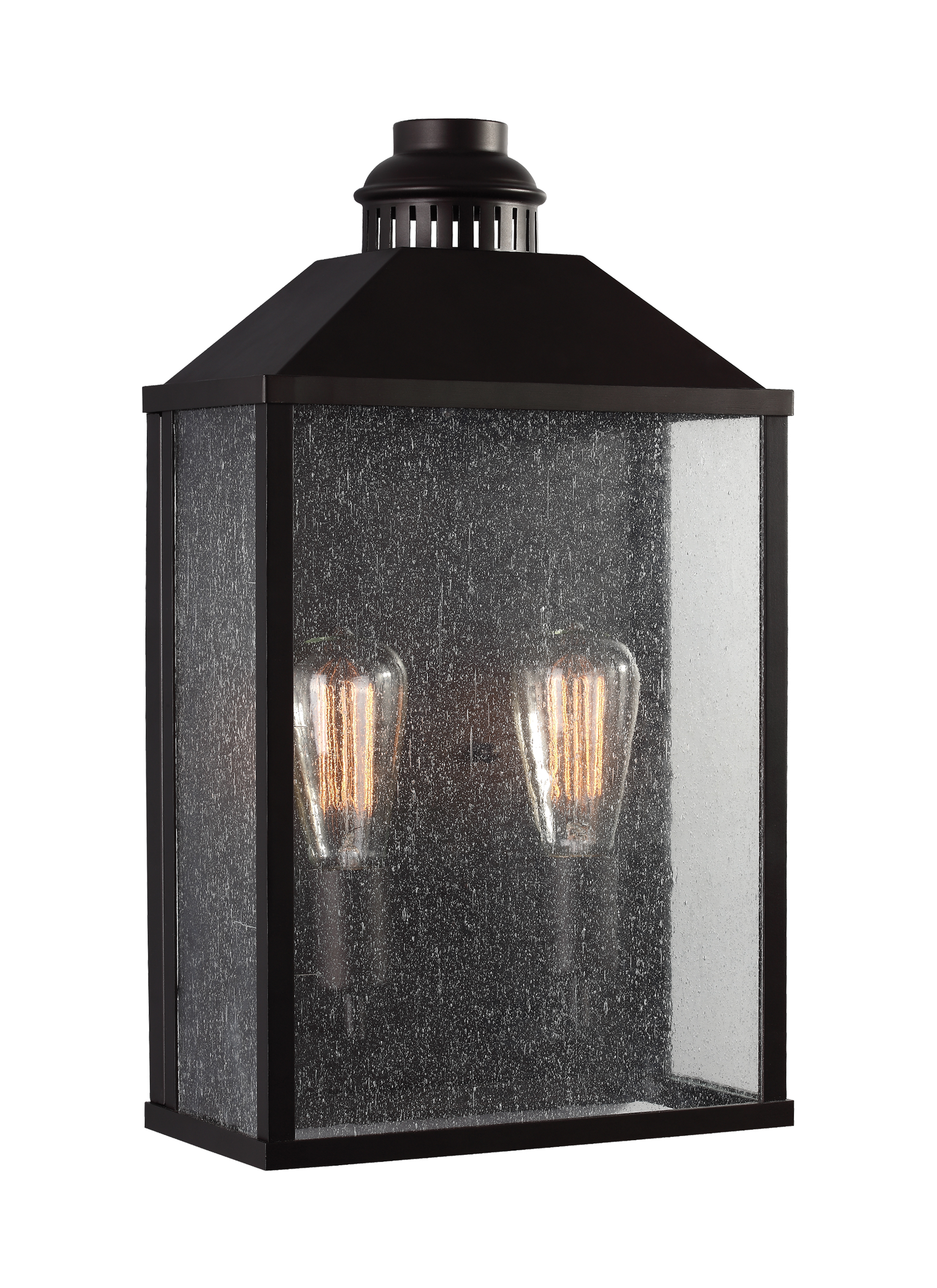 2 Light Outdoor Wall Sconce Loading Zoom