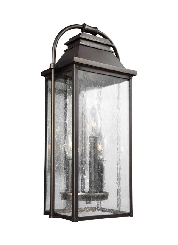 A 3 Light Outdoor Pendant Post Lantern And Small Medium Lanterns As Well 4 Large